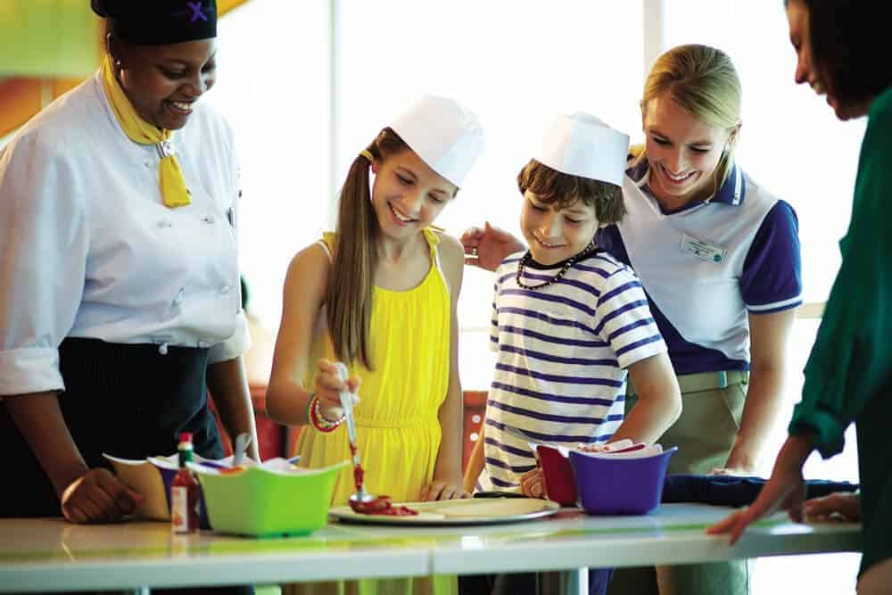Kids & Family Cooking Lessons - Best Family Cruise Lines