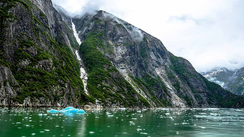 Tracy Arm Fjord Alaska - Best Time to Cruise to Alaska
