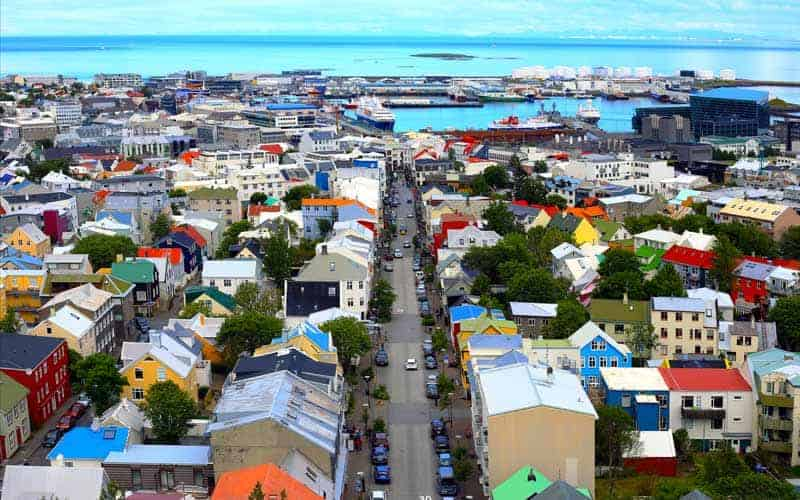 Iceland town