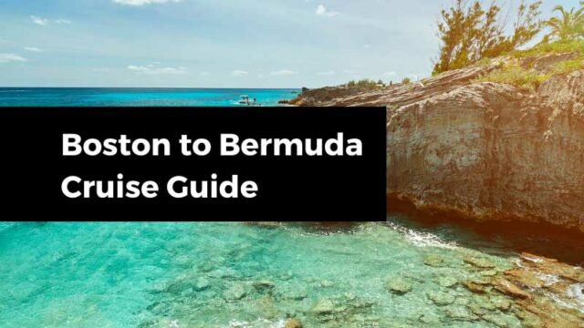 Bermuda Cruises from Boston