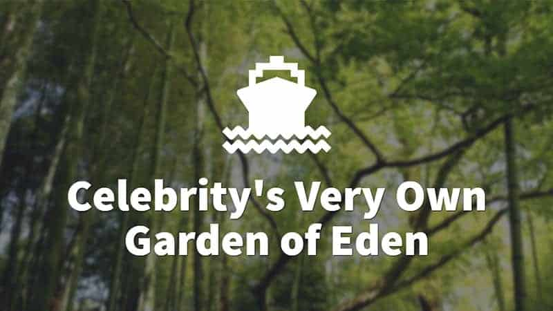 Celebrity's Very Own Garden of Eden