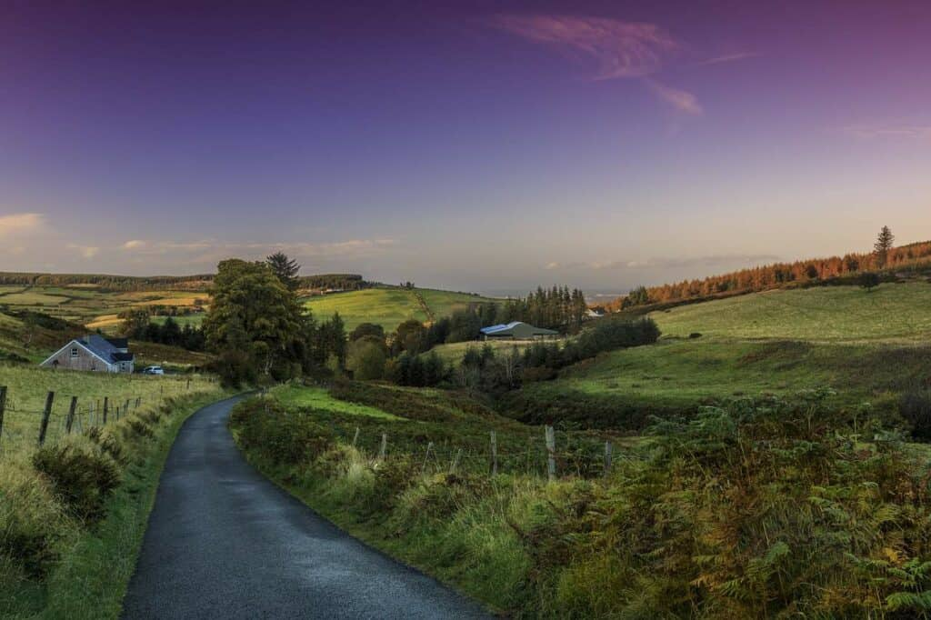 Landscape in Ireland - Best Cruises to Ireland