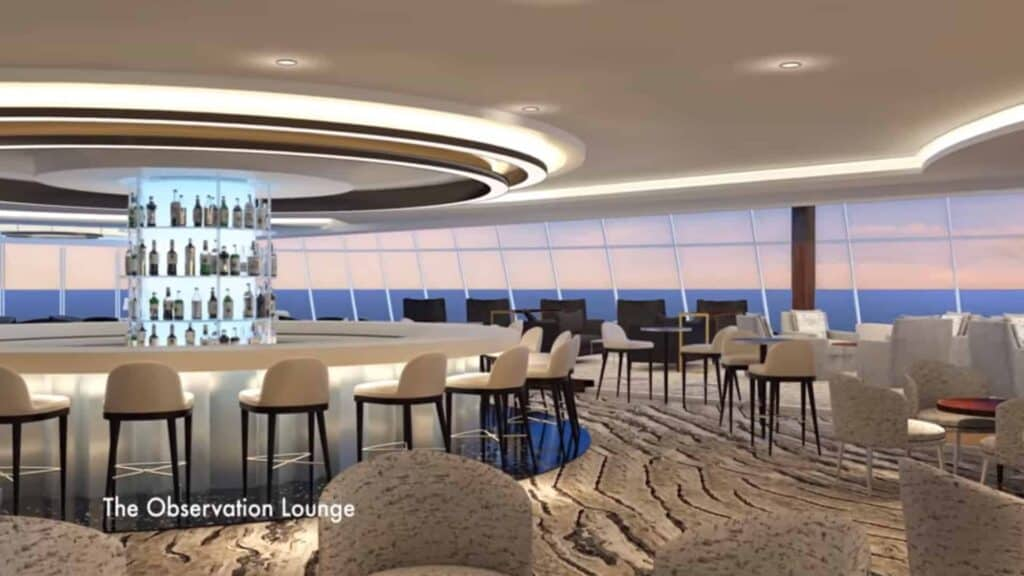 Norwegian Bliss - The Observation Lounge