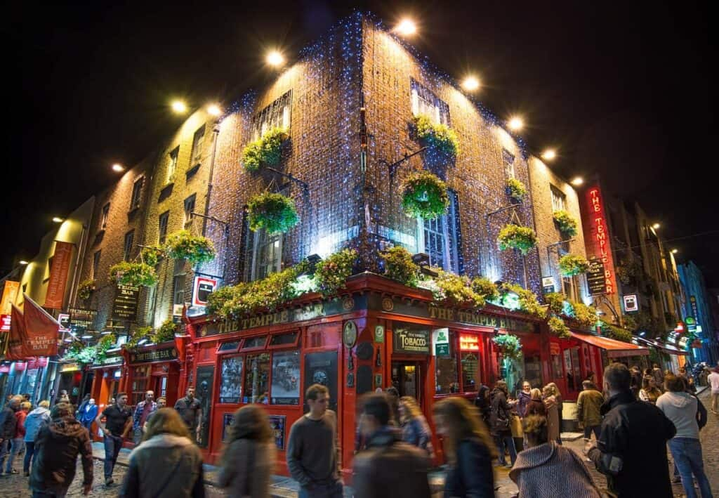 Temple Bar in Dublin - Best Cruises to Ireland