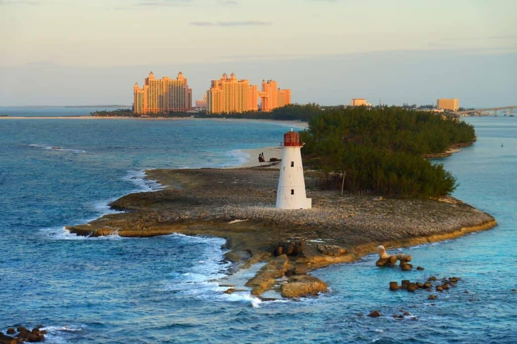 Lighthouse in the Bahamas - Best Time to Cruise to the Bahamas