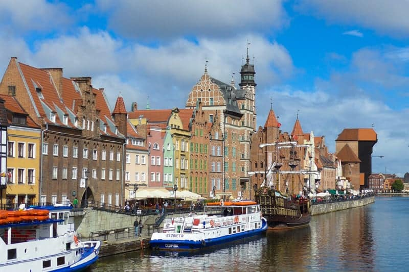 Gdansk, Poland - Viking Baltic Cruises