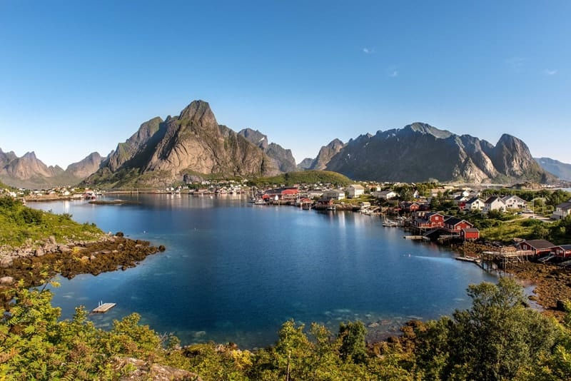 Lofoten Islands, Norway - Viking Baltic Cruises