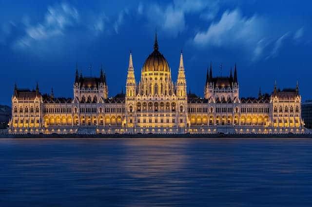 Parliament in Budapest Hungary - Viking Danube Cruise