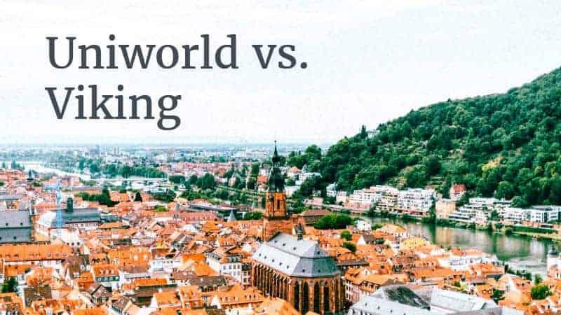 Uniworld vs Viking