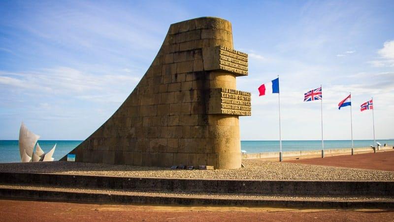 Omaha Beach, Paris to Normandy Viking River Cruise