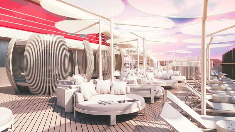 VIP Deck - Virgin Voyages