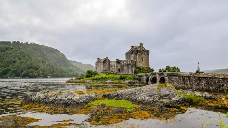 Castle in Scotland - Best Cruise Destinations
