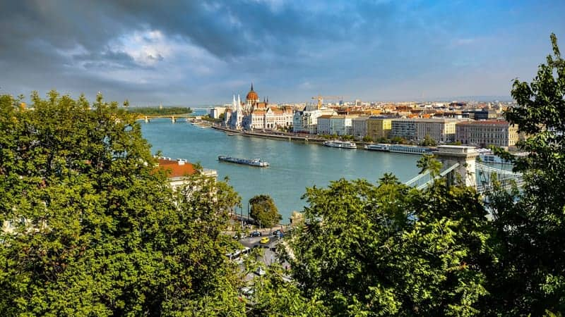 Danube River - Best Cruise Destinations in Europe