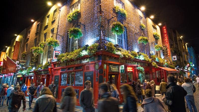 Temple Bar, Dublin, Ireland - Viking World Cruises