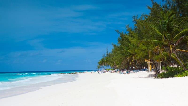Barbados beach, Caribbean - Best Boston Cruises