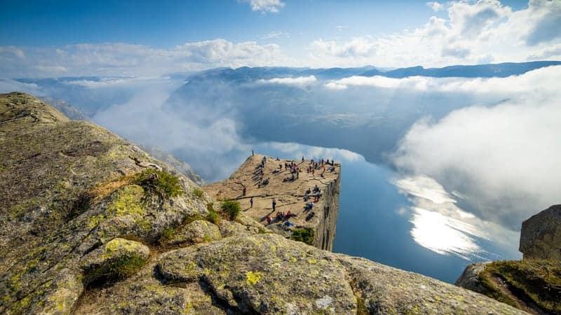 Preikestolen, Norway - Viking Homelands Cruise