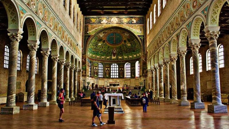 Ravenna church - Best Cruises around Italy