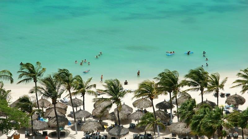Aruba beach - Best Southern Caribbean Cruises