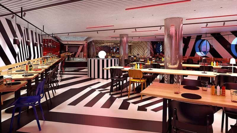 Razzle Dazzle Restaurant - Dining on Virgin Voyages