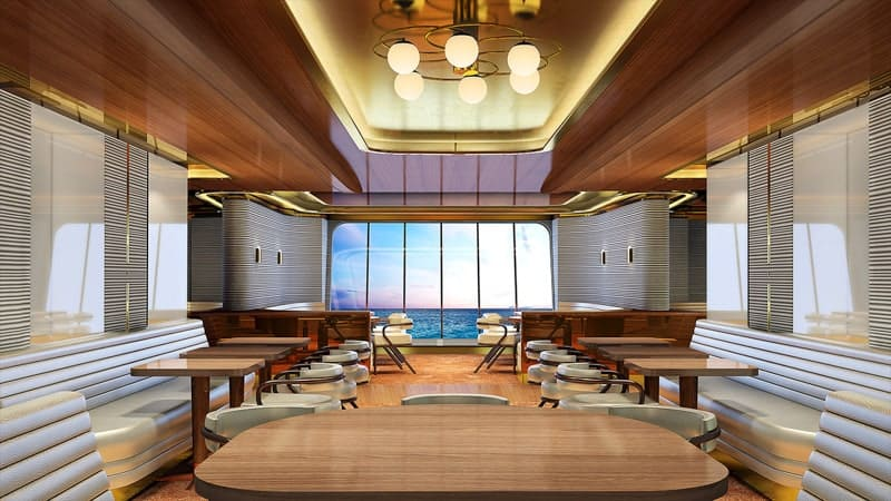 Wake Restaurant on Scarlet Lady, Virgin Voyages Dining