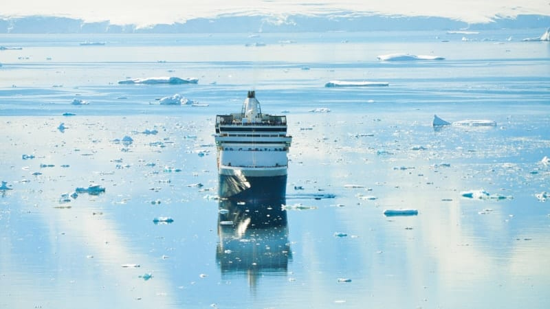 Cruise ship in Antarctica - Best Cruises to Antarctica
