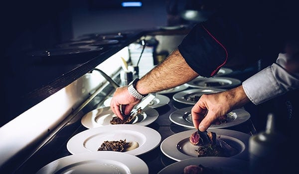 Chef preparing food - Best Cruise Lines for Foodies and Cuisine