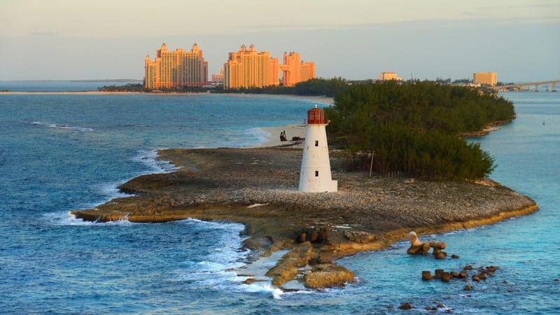 Lighthouse in the Bahamas - Best Cruises from Charleston, SC