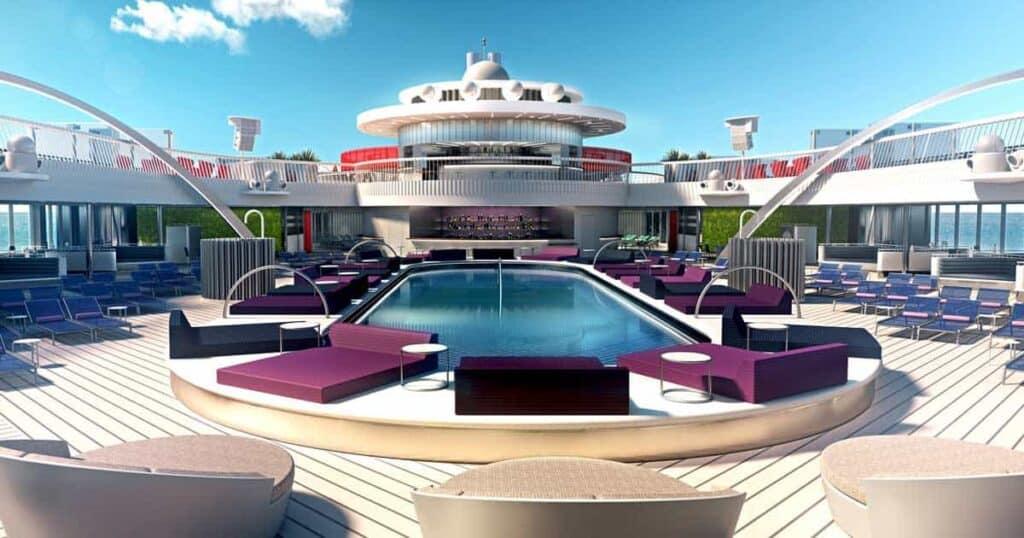 pool on cruise ship.