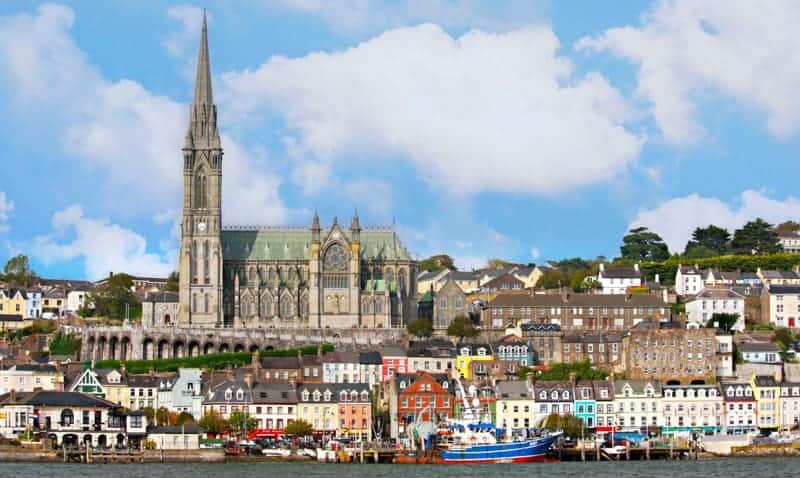 Cobh near Cork, Ireland - Best Cruises to Ireland
