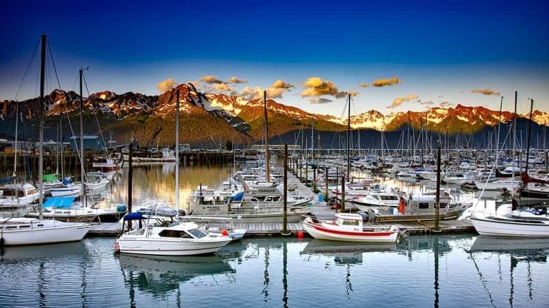Seward, Alaska - Viking Alaska and Inside Passage Cruise