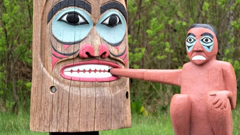 Totem pole in Ketchikan, Alaska - Viking Alaska Cruise