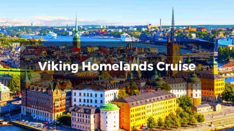 Viking Homelands Cruise.