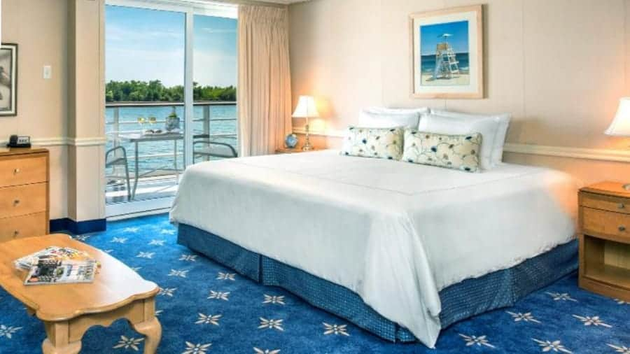 Pearl Sea Cruise Stateroom