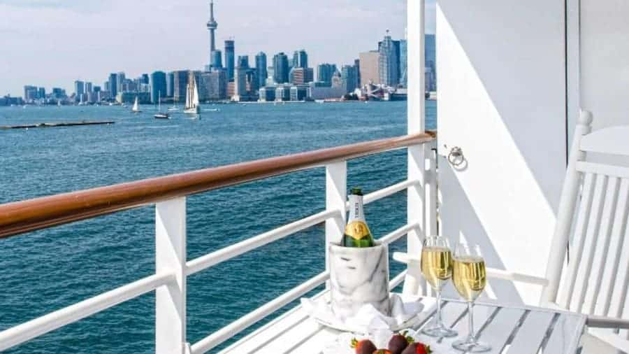 View from a Pearl Sea Cruise to Canada, New England or the Great Lakes
