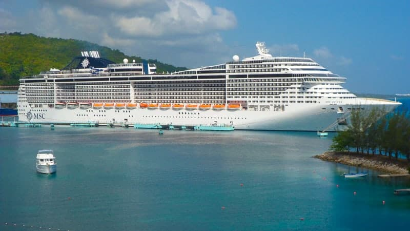 MSC Cruise Ship, Cruise to Jamaica