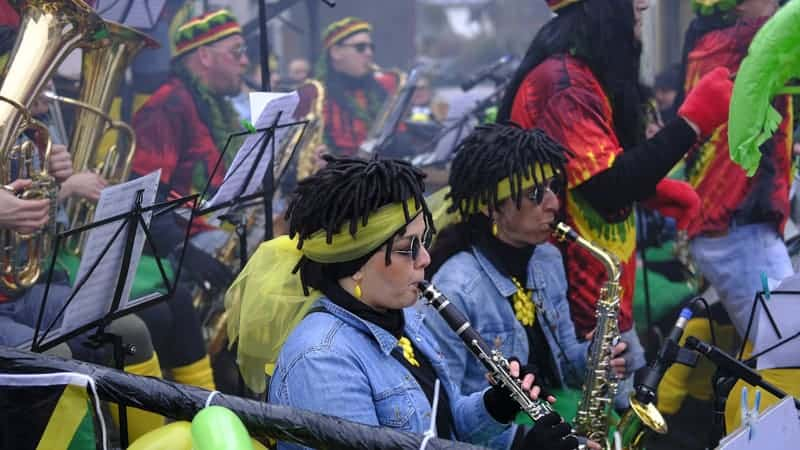 Music band in Jamaica