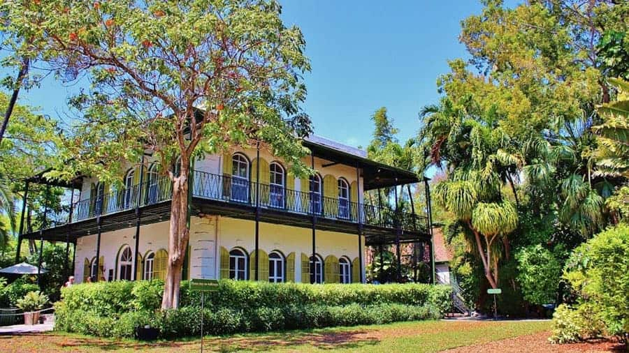 Hemingway House, top attractions on Key West cruises