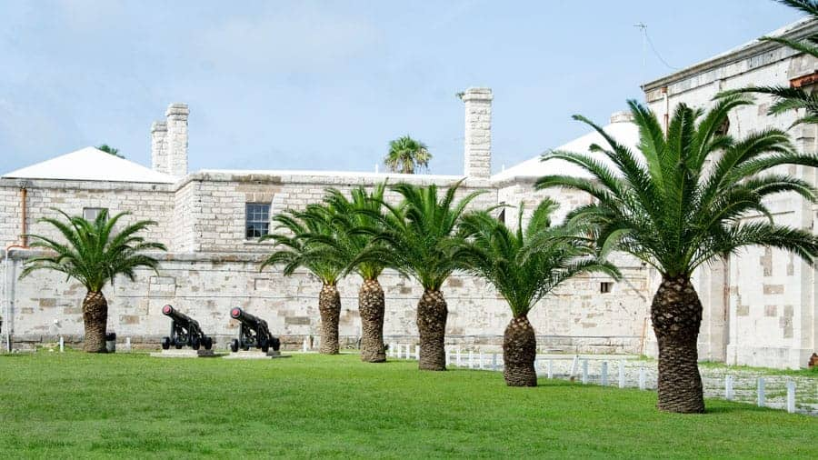 Fort in Bermuda