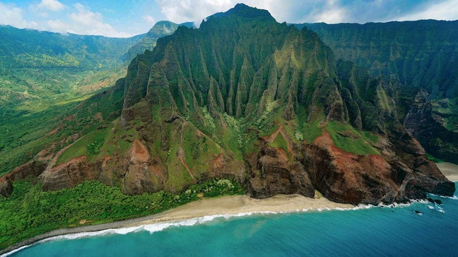 Na Pali Coast helicopter tour, Kauai, Hawaii things to do
