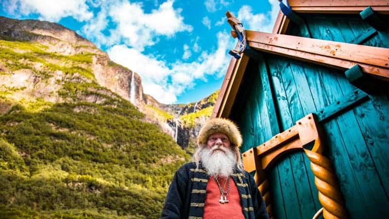 Njardarheimr Viking Village near Flam, Norway