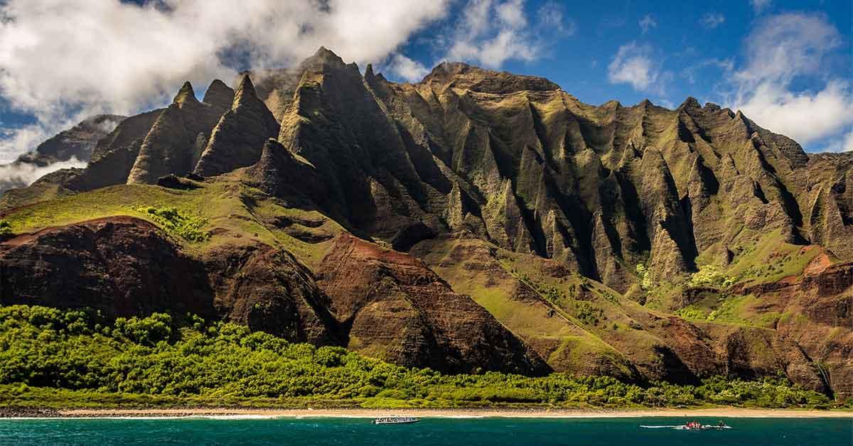 Hawaii Landscape.