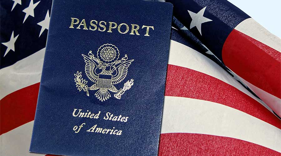 United States passport.