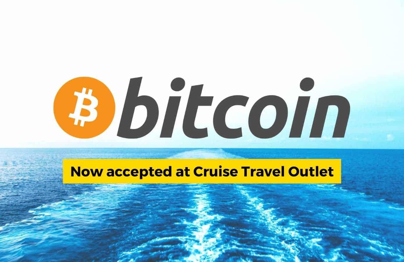 Bitcoin logo and text