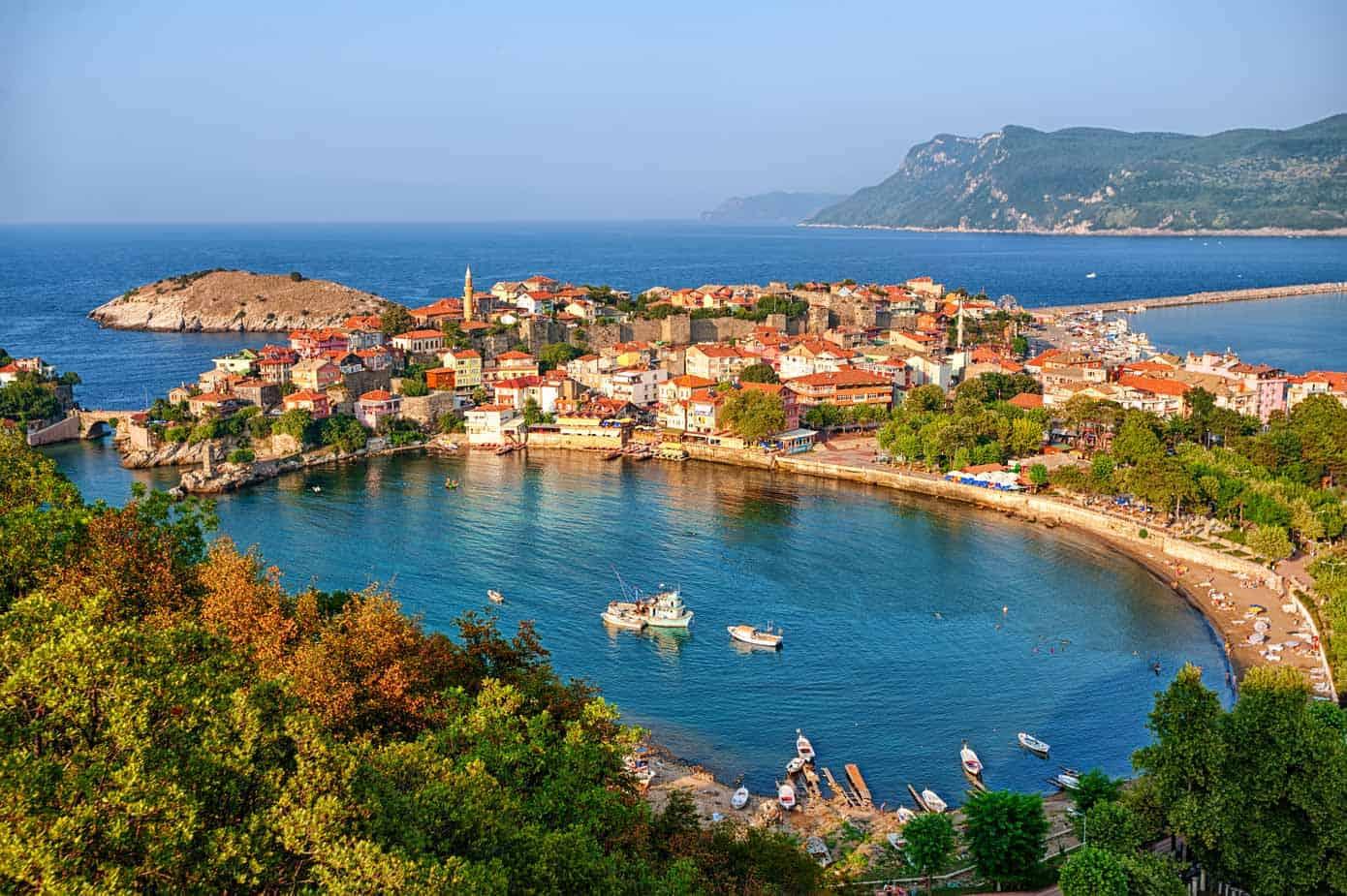 Amasra, Turkey on the Black Sea.