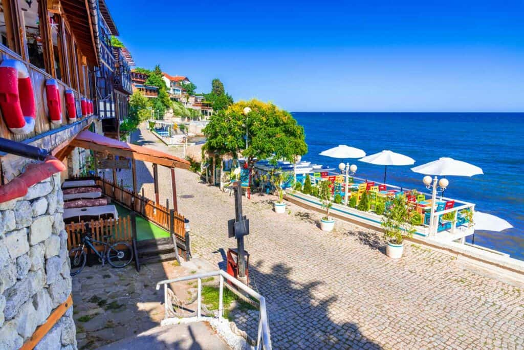 Nessebar, Bulgaria on the Black Sea.
